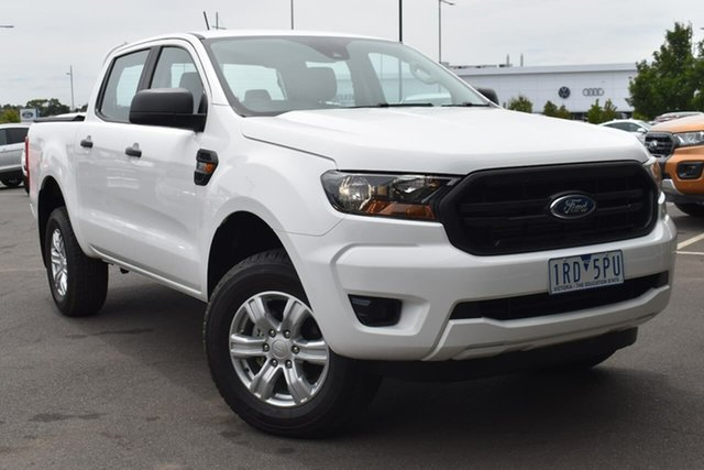 Used Ford Ranger PX MkIII 2020.25MY XL Essendon Fields, 2019 Ford Ranger PX MkIII 2020.25MY XL White 6 Speed Sports Automatic Double Cab Pick Up