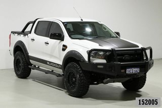 2015 Ford Ranger PX MkII XL 3.2 (4x4) White 6 Speed Manual Crew Cab Utility