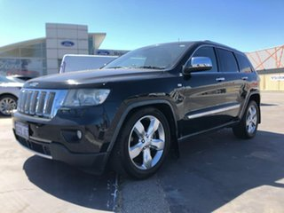 2012 Jeep Grand Cherokee WK MY2012 Overland Black 6 Speed Sports Automatic Wagon