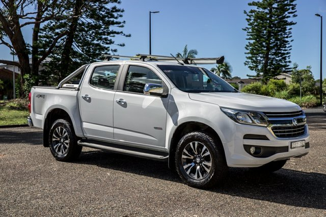 Used Holden Colorado RG MY18 LTZ Pickup Crew Cab Port Macquarie, 2017 Holden Colorado RG MY18 LTZ Pickup Crew Cab White 6 Speed Sports Automatic Utility