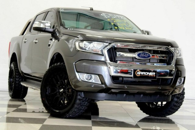 Used Ford Ranger PX MkII MY18 XLT 3.2 (4x4) Burleigh Heads, 2017 Ford Ranger PX MkII MY18 XLT 3.2 (4x4) Grey 6 Speed Automatic Double Cab Pick Up