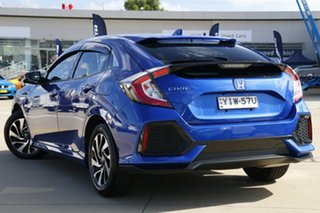 2018 Honda Civic MY20 VTi-S Blue Automatic Hatchback.