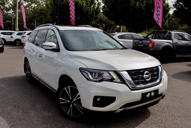 Used Nissan Pathfinder R52 Series III MY19 Ti X-tronic 4WD Phillip, 2019 Nissan Pathfinder R52 Series III MY19 Ti X-tronic 4WD White 1 Speed Constant Variable Wagon