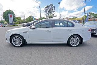2014 Ford Falcon FG MkII G6E EcoBoost White 6 Speed Sports Automatic Sedan