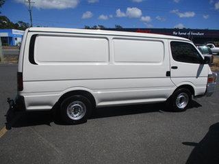 2003 Toyota HiAce RZH103R White 5 Speed Manual Van.