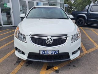 2012 Holden Cruze JH Series II MY13 SRi-V White 6 Speed Sports Automatic Sedan.