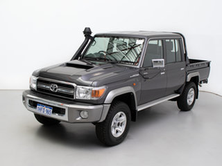 2020 Toyota Landcruiser VDJ79R GXL (4x4) Grey 5 Speed Manual Double Cab Chassis