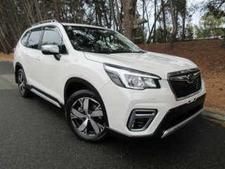 2018 Subaru Forester S5 MY19 2.5i-S CVT AWD White 7 Speed Constant Variable Wagon.