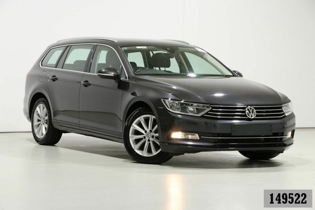 Used Volkswagen Passat 3C MY18.5 132 TSI Comfortline Bentley, 2018 Volkswagen Passat 3C MY18.5 132 TSI Comfortline Grey 7 Speed Auto Direct Shift Wagon