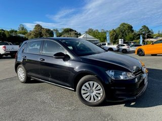 2013 Volkswagen Golf VII MY14 90TSI Black 6 Speed Manual Hatchback.