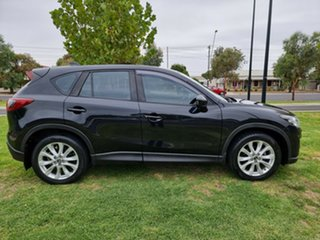 2012 Mazda CX-5 KE1021 Grand Touring SKYACTIV-Drive AWD Black 6 Speed Sports Automatic Wagon.