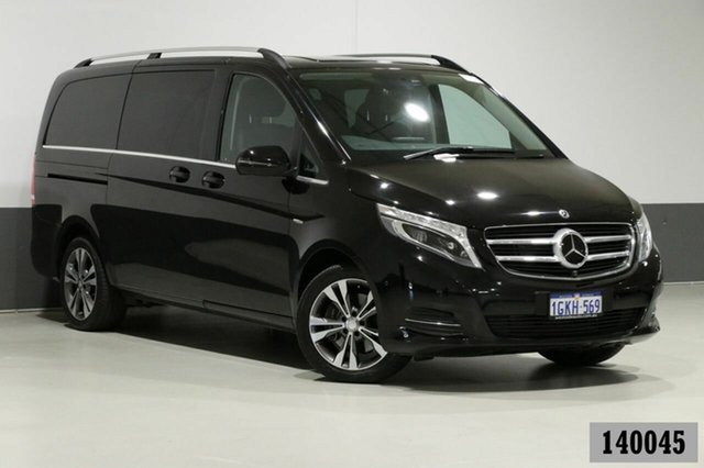 Used Mercedes-Benz V250d 447 MY17 Avantgarde MWB Bentley, 2017 Mercedes-Benz V250d 447 MY17 Avantgarde MWB Obsidian Black Metallic 7 Speed Automatic Wagon