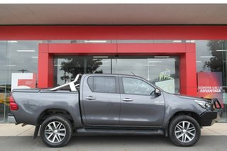 2017 Toyota Hilux GUN126R SR5 Double Cab Grey 6 Speed Manual Utility.