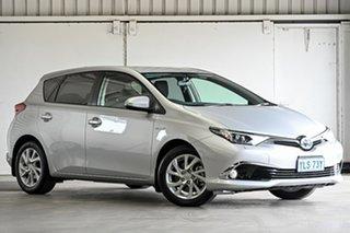2017 Toyota Corolla ZWE186R Hybrid E-CVT Silver 1 Speed Constant Variable Hatchback Hybrid.