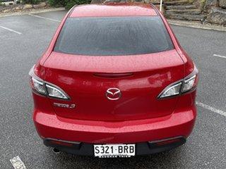 2009 Mazda 3 BL10F1 Neo Red 6 Speed Manual Sedan