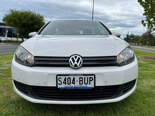 2009 Volkswagen Golf VI 118TSI DSG Comfortline White 7 Speed Sports Automatic Dual Clutch Hatchback.