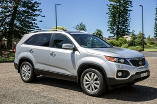 2010 Kia Sorento XM MY10 Platinum Bright Silver 6 Speed Sports Automatic Wagon.