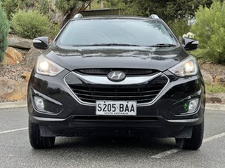 2013 Hyundai ix35 LM2 Elite AWD Phantom Black 6 Speed Sports Automatic Wagon.