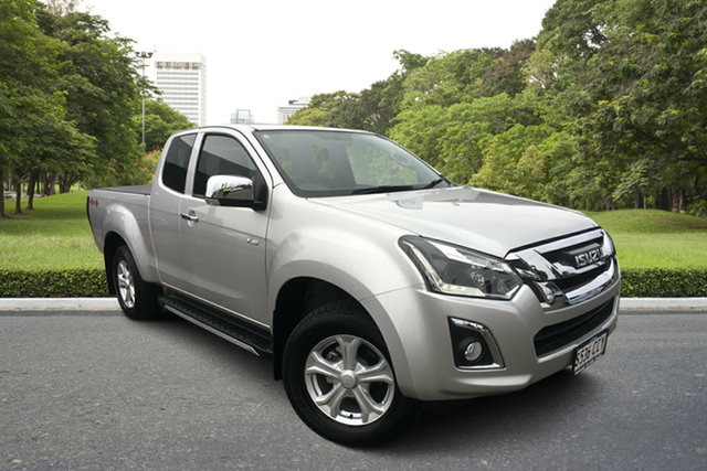 Used Isuzu D-MAX MY19 LS-U Space Cab Paradise, 2019 Isuzu D-MAX MY19 LS-U Space Cab Silver 6 Speed Sports Automatic Utility
