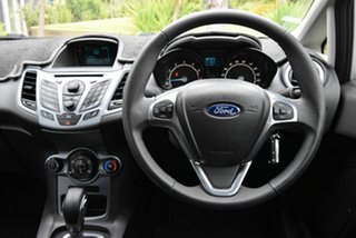 2014 Ford Fiesta WZ Trend PwrShift Silver 6 Speed Sports Automatic Dual Clutch Hatchback