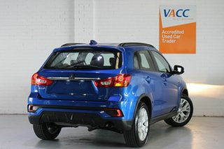 2019 Mitsubishi ASX XC MY19 ES 2WD ADAS Blue 1 Speed Constant Variable Wagon