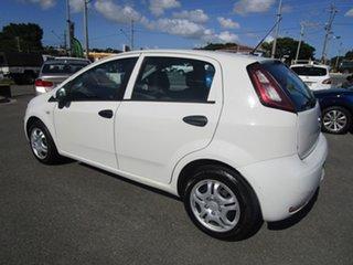 2013 Fiat Punto MY13 Pop Dualogic White 5 Speed Sports Automatic Single Clutch Hatchback.