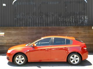 2011 Holden Cruze JH Series II MY12 CD Red 6 Speed Sports Automatic Hatchback.