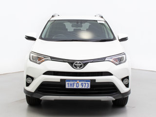2017 Toyota RAV4 ZSA42R MY17 GXL (2WD) White Continuous Variable Wagon.