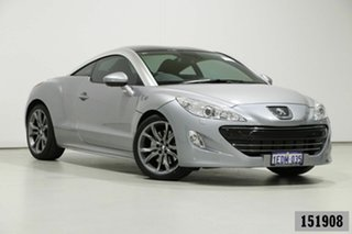 2013 Peugeot RCZ 1.6T Silver 6 Speed Manual Coupe.