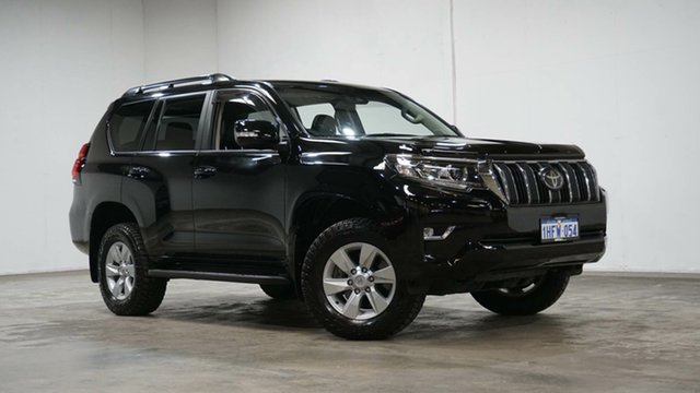 Used Toyota Landcruiser Prado GDJ150R GXL Welshpool, 2017 Toyota Landcruiser Prado GDJ150R GXL Black 6 Speed Sports Automatic Wagon