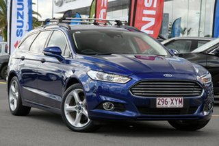 2017 Ford Mondeo MD 2017.00MY Trend Blue 6 Speed Sports Automatic Dual Clutch Wagon.