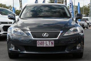 2008 Lexus IS GSE20R IS250 Prestige Grey 6 Speed Sports Automatic Sedan