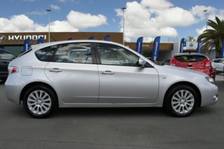 2009 Subaru Impreza G3 MY09 R AWD Silver 5 Speed Manual Hatchback.