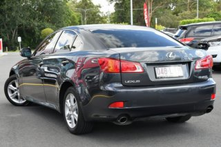 2008 Lexus IS GSE20R IS250 Prestige Grey 6 Speed Sports Automatic Sedan