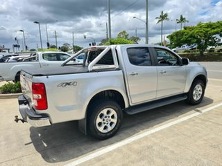 2015 Holden Colorado RG MY15 LTZ Crew Cab Silver 6 Speed Sports Automatic Utility.
