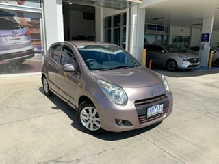 2011 Suzuki Alto GF GL Pink 4 Speed Automatic Hatchback.
