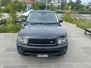 2010 Land Rover Range Rover Sport L320 11MY TDV6 Black 6 Speed Sports Automatic Wagon