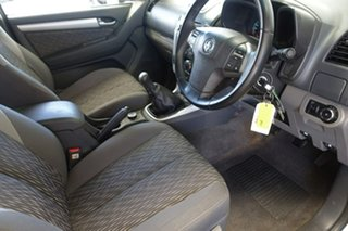 2012 Holden Colorado RG LT (4x4) Silver 5 Speed Manual Crew Cab Pickup