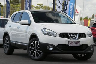 2012 Nissan Dualis J10W Series 3 MY12 Ti-L Hatch X-tronic 2WD White 6 Speed Constant Variable