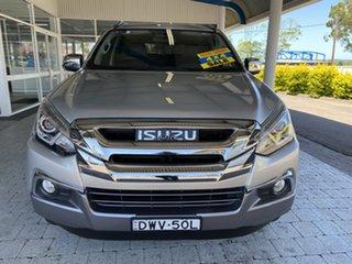 2018 Isuzu MU-X UC MY17 LS-T Silver 6 Speed Sports Automatic Wagon.