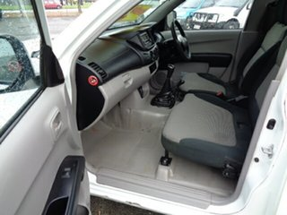 2011 Mitsubishi Triton MN MY11 GLX White 5 Speed Manual Cab Chassis