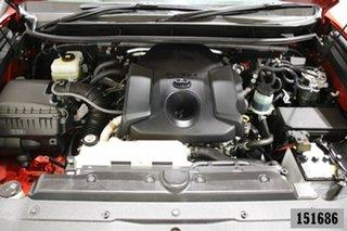2018 Toyota Landcruiser Prado GDJ150R MY18 VX (4x4) Red 6 Speed Automatic Wagon
