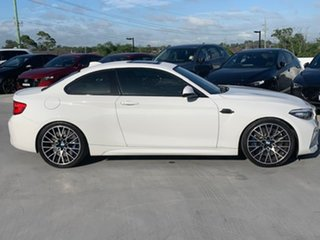 2018 BMW M2 F87 LCI Competition M-DCT Pure White 7 Speed Sports Automatic Dual Clutch Coupe.