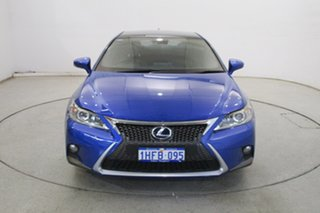 2014 Lexus CT ZWA10R MY13 CT200h F Sport Blue 1 Speed Constant Variable Hatchback Hybrid.
