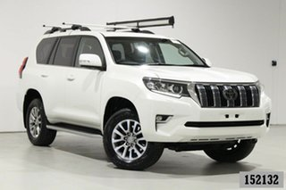 2018 Toyota Landcruiser Prado GDJ150R Kakadu (4x4) White 6 Speed Automatic Wagon.