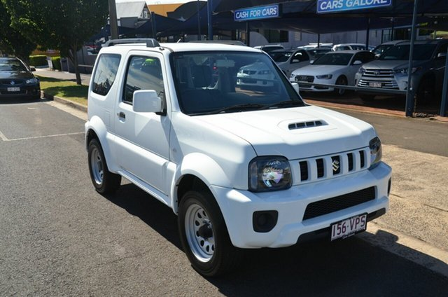 Used Suzuki Jimny MY15 Toowoomba, 2015 Suzuki Jimny MY15 White 4 Speed Automatic 4x4 Wagon