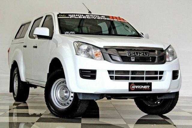 Used Isuzu D-MAX TF MY15.5 SX HI-Ride (4x2) Burleigh Heads, 2016 Isuzu D-MAX TF MY15.5 SX HI-Ride (4x2) White 5 Speed Automatic Cab Chassis
