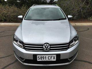 2014 Volkswagen Passat Type 3C MY14.5 118TSI DSG Silver 7 Speed Sports Automatic Dual Clutch Wagon.