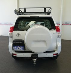 2012 Toyota Landcruiser Prado KDJ150R GX Glacier White 5 Speed Sports Automatic Wagon