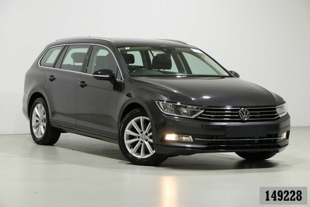 Used Volkswagen Passat 3C MY18.5 132 TSI Comfortline Bentley, 2018 Volkswagen Passat 3C MY18.5 132 TSI Comfortline Manganese Grey 7 Speed Auto Direct Shift Wagon